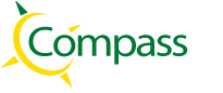 Compass Road Markings Logo